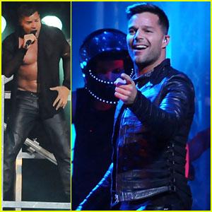 Ricky Martin: Concert in Sao Paulo!