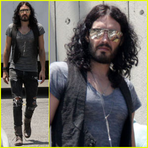 Russell Brand: Ready to Wreak Havoc in Britain & Ireland