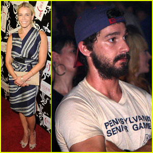 Shia LaBeouf: Belvedere Red Launch Party!