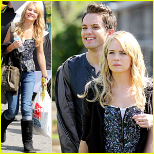 Thomas Dekker: 'Secret Circle' Set with Britt Robertson