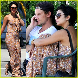 Vanessa Hudgens: Lunch with Mystery Man!