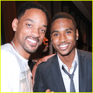 Will Smith: Moet Rose Lounge with Trey Songz!