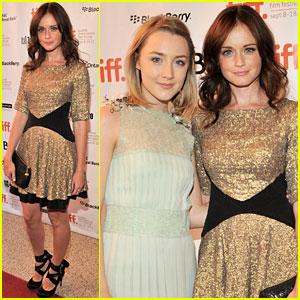 Alexis Bledel: 'Violet & Daisy' Premiere with Saoirse Ronan!