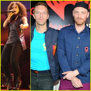 Alicia Keys & Coldplay: iHeartRadio Festival in Vegas!