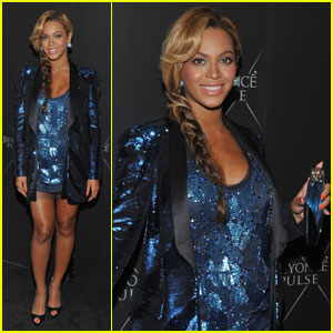 Beyonce Launches Her 'Pulse' Fragrance in NYC