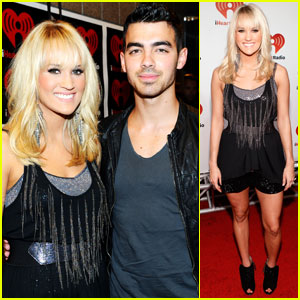 Carrie Underwood: iHeartRadio With Joe Jonas!