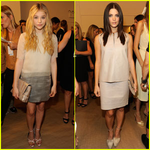 Chloe Moretz & Ashley Greene: Calvin Klein Show & Dinner!