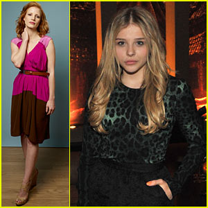 Chloe Moretz: TIFF Party with Jessica Chastain!