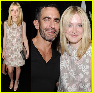 Dakota Fanning: Marc Jacobs Show & After Party!