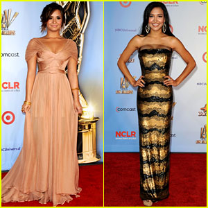 Demi Lovato & Naya Rivera: Alma Awards 2011 Red Carpet!