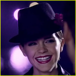 Emma Watson: Lancome 'Tresor Midnight Rose' Commercial