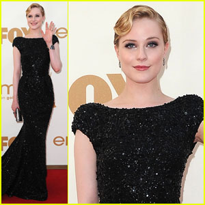 Evan Rachel Wood - Emmys 2011 Red Carpet
