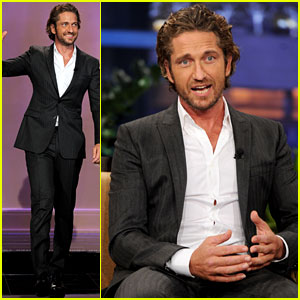 Gerard Butler: 'The Tonight Show' Guest!