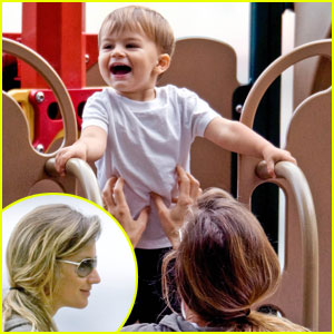 Gisele Bundchen: Park Playdate with Benjamin!