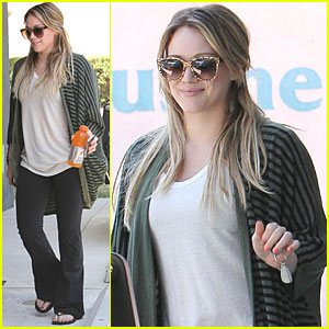 Hilary Duff: Pumped for Pilates