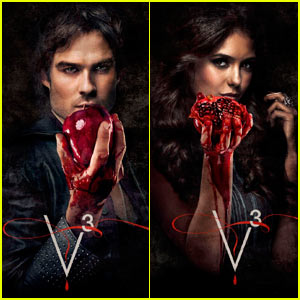Ian Somerhalder: 'Vampire Diaries' Season 3 Promo Pics!