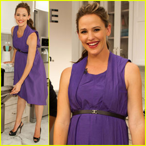 Jennifer Garner: Frigidaire Launch With Suzanne Goin!