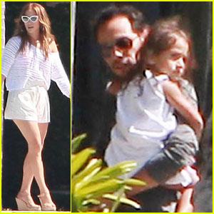 Jennifer Lopez & Marc Anthony Reunite for His Birthday