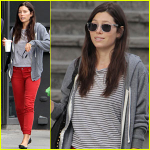 Jessica Biel: Day Off in Toronto!