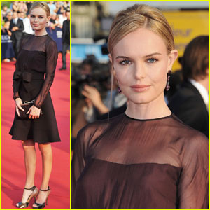 Kate Bosworth: Deauville Film Festival Opening Ceremony!