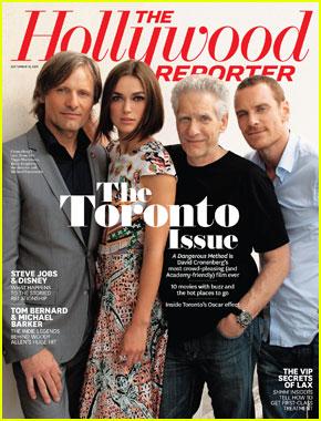 Keira Knightley & Michael Fassbender Cover 'THR'