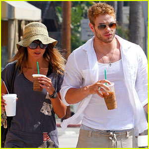 Kellan Lutz & Sharni Vinson: New Couple Alert?