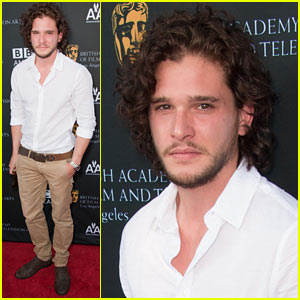 Kit Harington: BAFTA Tea Party!