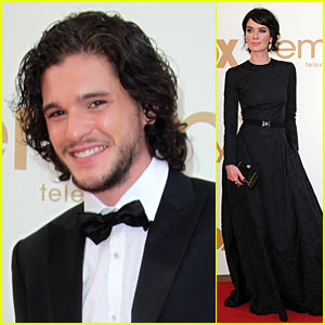 Kit Harington: Emmys with Lena Headey!