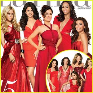 Selena Gomez, Salma Hayek, & Shakira Cover 'Latina'