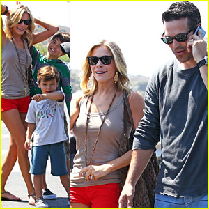LeAnn Rimes: Family Fun Day with Eddie Cibrian, Mason, &#038; Jake!