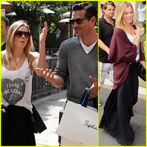 LeAnn Rimes & Eddie Cibrian: Shopping Sweeties!