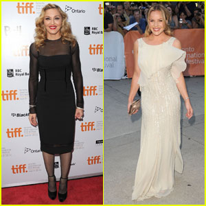 Madonna & Abbie Cornish Premiere 'W.E.' at TIFF