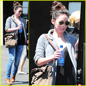 Megan Fox: Office Building Visit