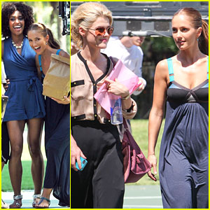 Minka Kelly Laughs it Out with Her Angels