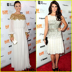 Olivia Wilde & Ashley Greene: 'Butter' Premiere Pals!