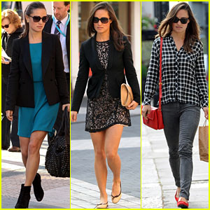 Pippa Middleton's Changing Styles!