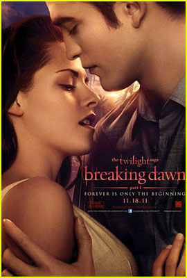 Robert Pattinson & Kristen Stewart: 'Twilight: Breaking Dawn' Poster!