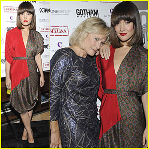 Rose Byrne & Glenn Close: 'Gotham' Magazine Party!