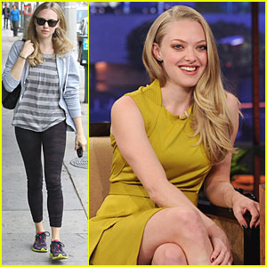 Amanda Seyfried Talks 'In Time' on The Tonight Show