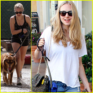 Amanda Seyfried's Day Out with Finn!