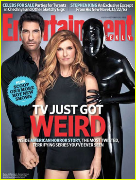 Dylan McDermott & Connie Britton Cover 'EW'
