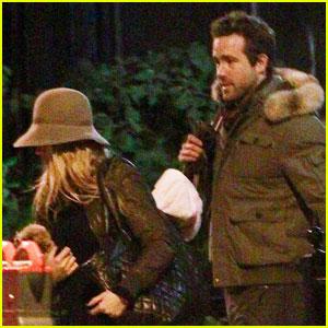 Blake Lively Leaves Ryan Reynolds' Apartment