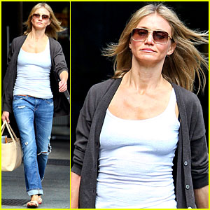 Cameron Diaz Steps Out After Split with Alex Rodriguez