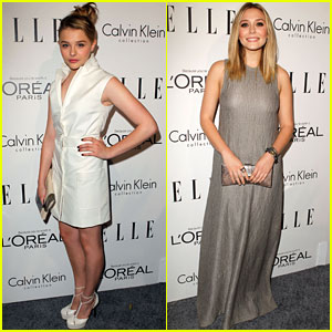 Chloe Moretz &#038; Elizabeth Olsen: 'Elle' Tribute Lovelies!