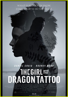 Daniel Craig & Rooney Mara: New 'Dragon Tattoo' Poster!