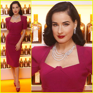 Dita Von Teese: Cointreauversial Cocktail Party!