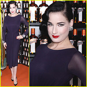 Dita Von Teese: Cointreau Minibar Inauguration!