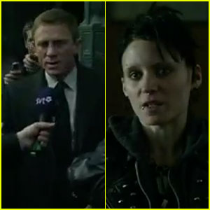 Daniel Craig & Rooney Mara: New 'Dragon Tattoo' International Trailer!