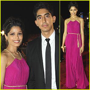 Freida Pinto & Dev Patel: 'Black Gold' Premiere in Qatar!