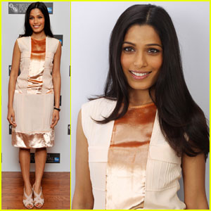 Freida Pinto: 'Trishna' Photo Call at London Film Festival!